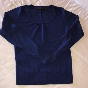 The Limited Royal Blue Sweater